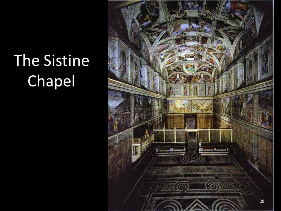 The Sistine Chapel 20