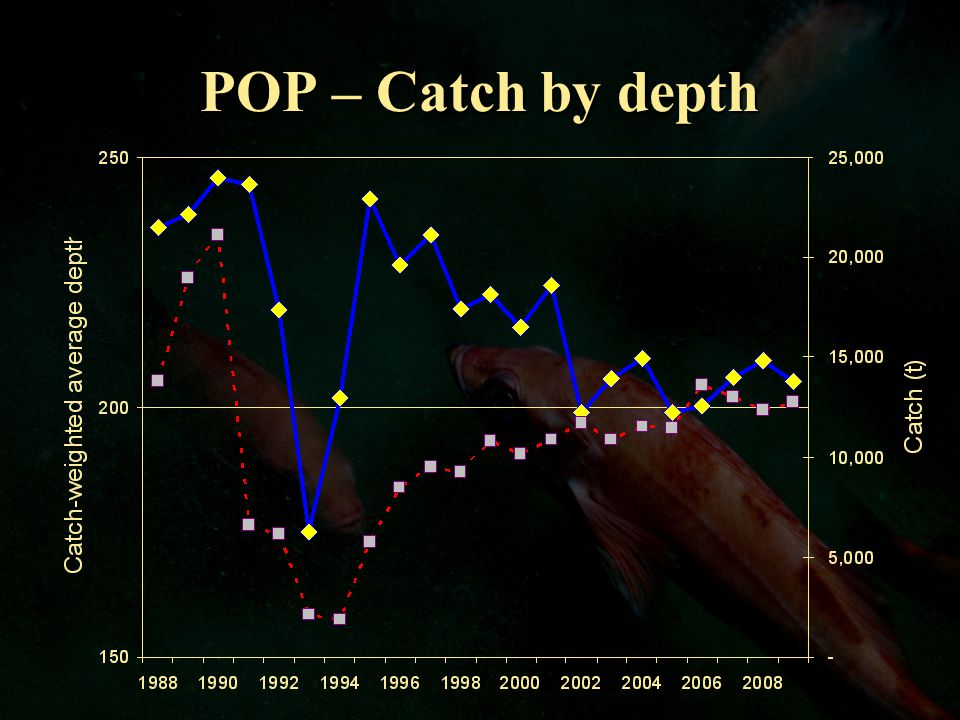POP – Catch by depth