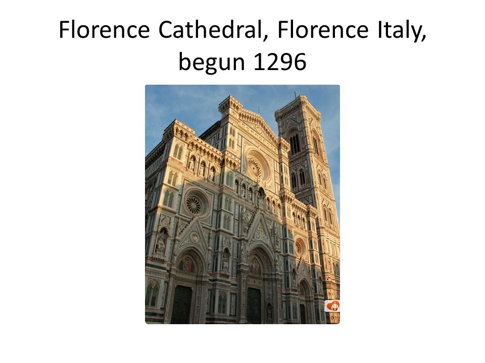 Florence Cathedral, Florence Italy, begun 1296