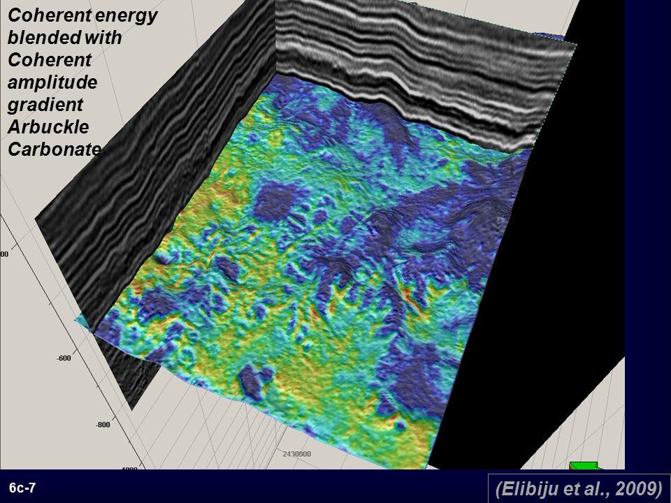 6c-7 Coherent energy blended with Coherent amplitude gradient Arbuckle Carbonate (Elibiju et al., 2009)