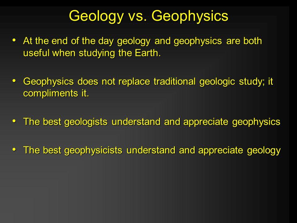 Geology vs.