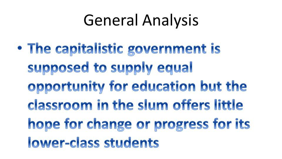 General Analysis