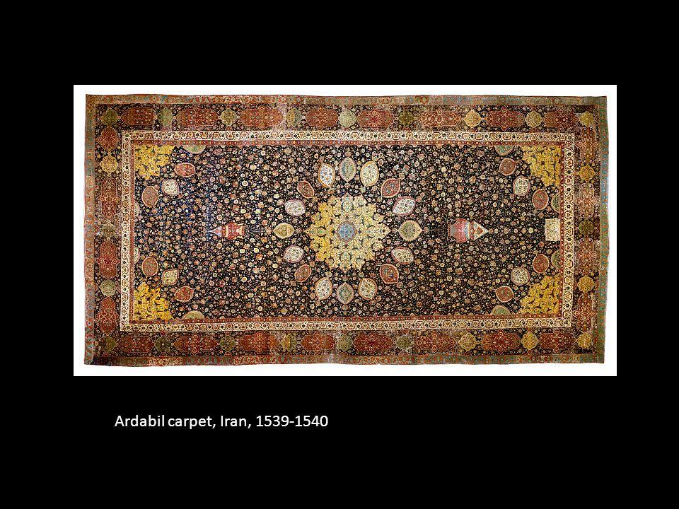 Ardabil carpet, Iran, 1539-1540