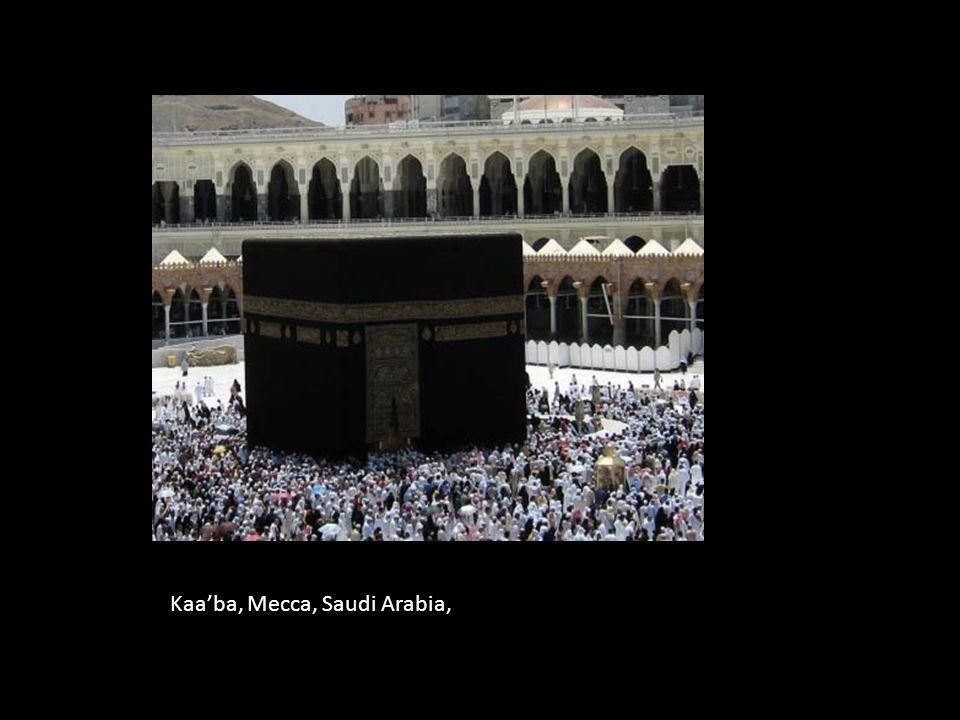 Kaa'ba, Mecca, Saudi Arabia,