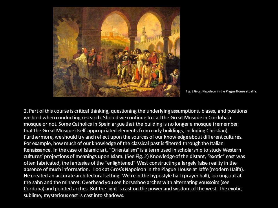 3.Islamic art is more than religious art.
