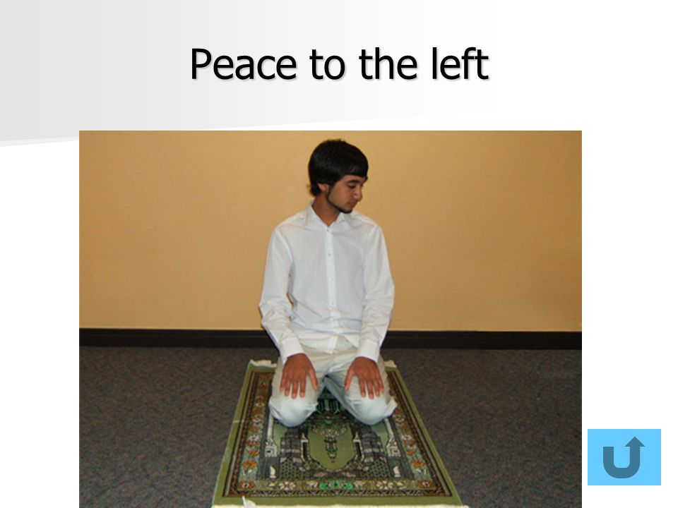 Peace to the left