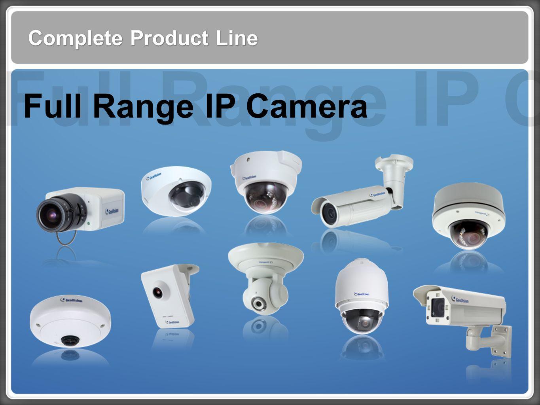 Complete Product Line Full Range IP Camera Full Range IP Cam