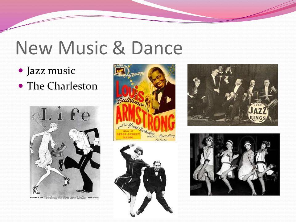 New Music & Dance Jazz music The Charleston
