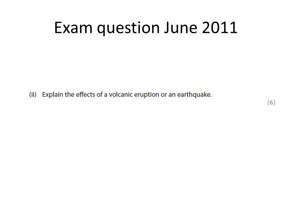 Exam question June 2011