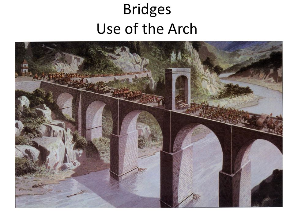 Bridges Use of the Arch