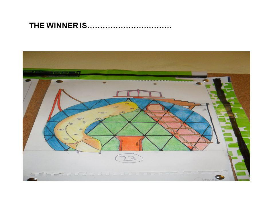 THE WINNER IS……………………………