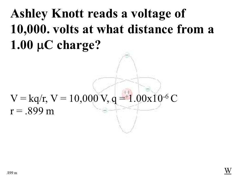.22  C W Alex Tudance measures a voltage of 25,000 volts near a Van de Graaff generator whose dome is 7.8 cm in radius.