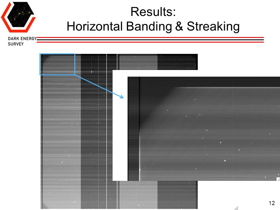 12 Results: Horizontal Banding & Streaking