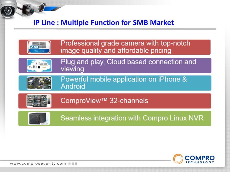 IP Line : Multiple Function for SMB Market