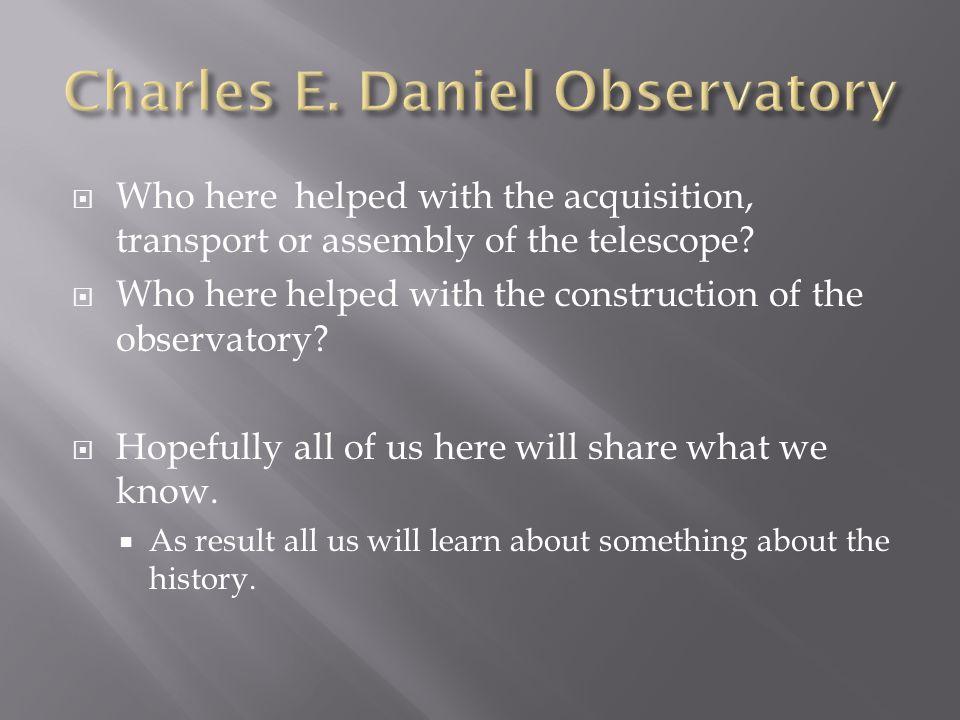 The New Princeton Telescope  Scientific American; Vol.