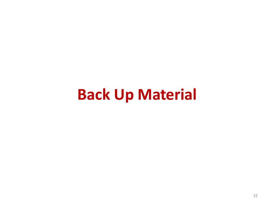 Back Up Material 31