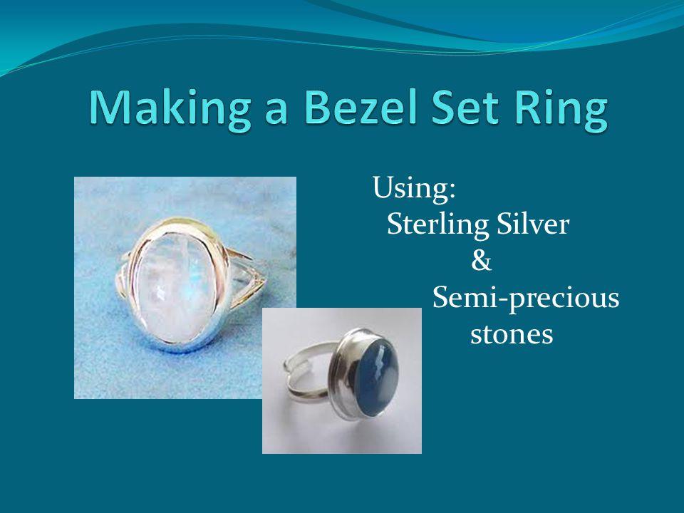 Using: Sterling Silver & Semi-precious stones
