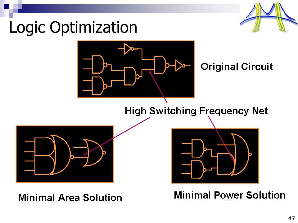 Logic Optimization 47
