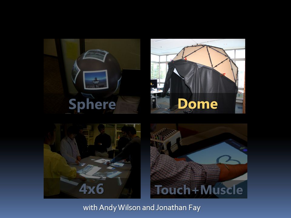 Dome Sphere Touch+Muscle 4x6 with Andy Wilson and Jonathan Fay