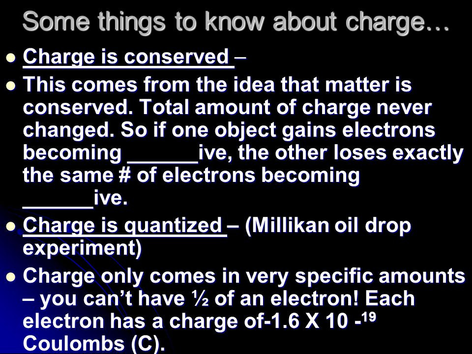 There are 3 types of materials as far as charge is concerned Insulators: Insulators: Non-metals and most compounds Non-metals and most compounds Valence Electrons are basically bound to each atom and are not mobile Valence Electrons are basically bound to each atom and are not mobile Examples: Examples: