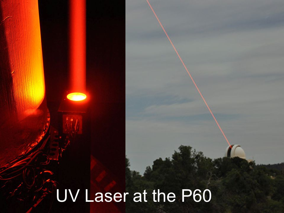 UV Laser at the P60