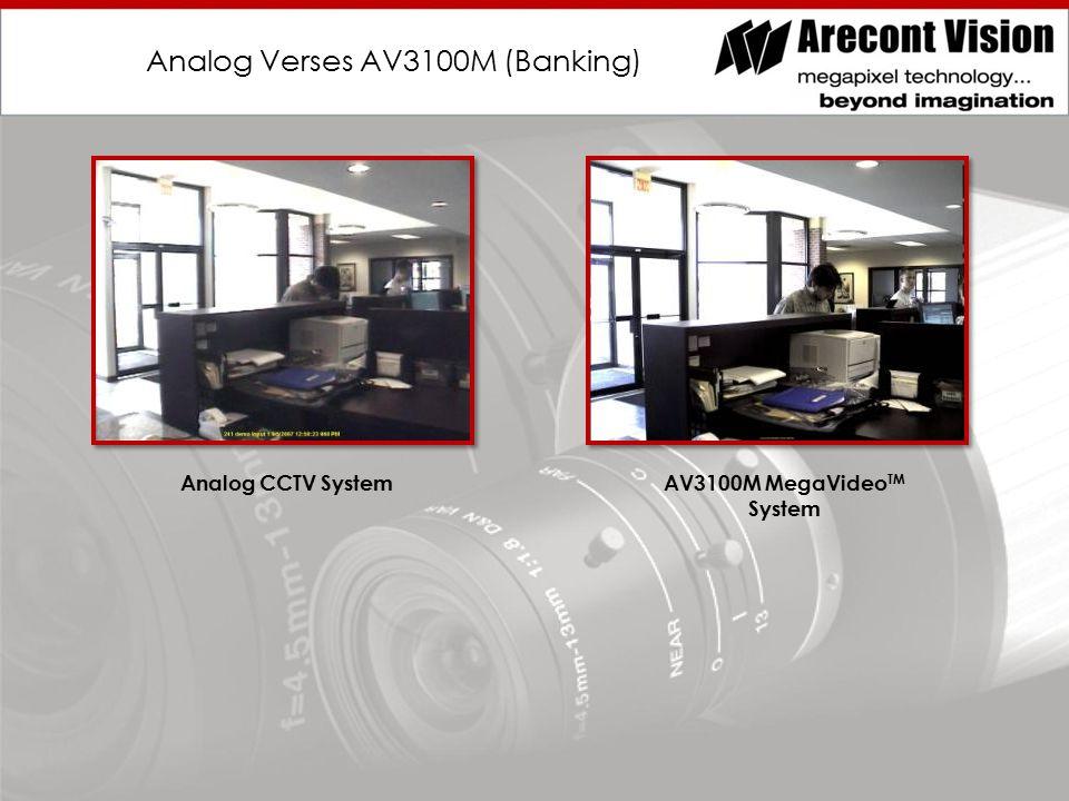 Analog Verses AV3100M (Banking) Analog CCTV SystemAV3100M MegaVideo TM System