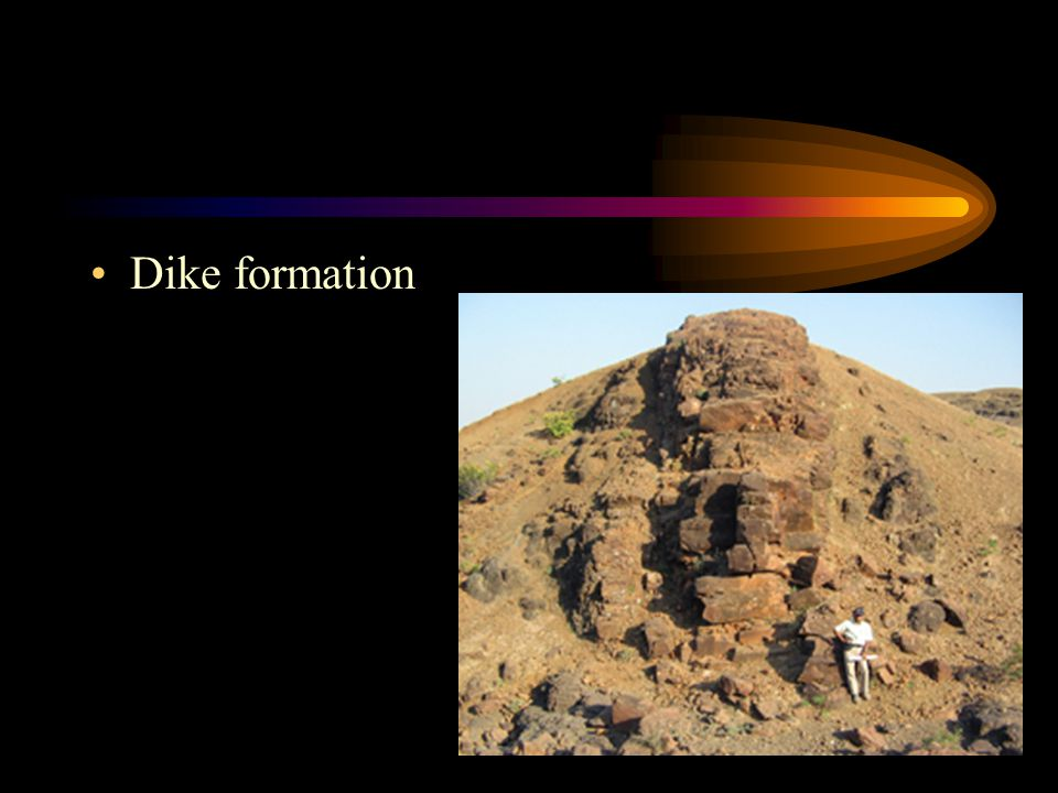 Dike formation