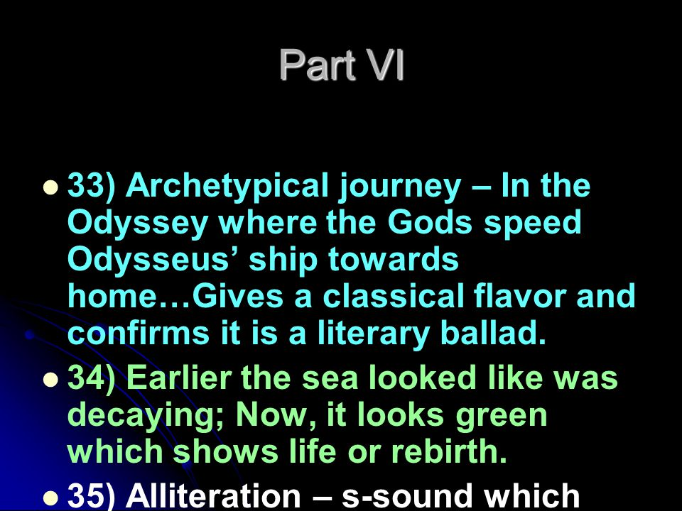 Part VII 40) – The angels stand above the dead crew members with a beacon and at that point, a pilot, his son, and a hermit pull up toward the mariner in a boat.