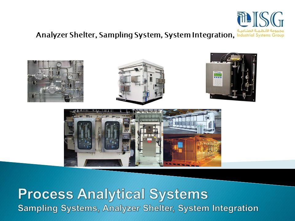 Analyzer Shelter, Sampling System, System Integration,