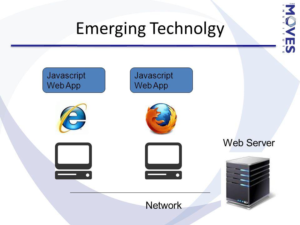 Emerging Technolgy Javascript Web App Web Server Network