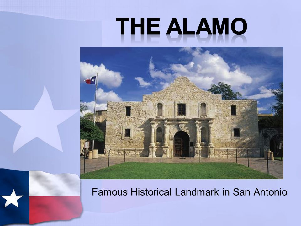 The Alamo was originally a mission, but later it was used as an army outpost.