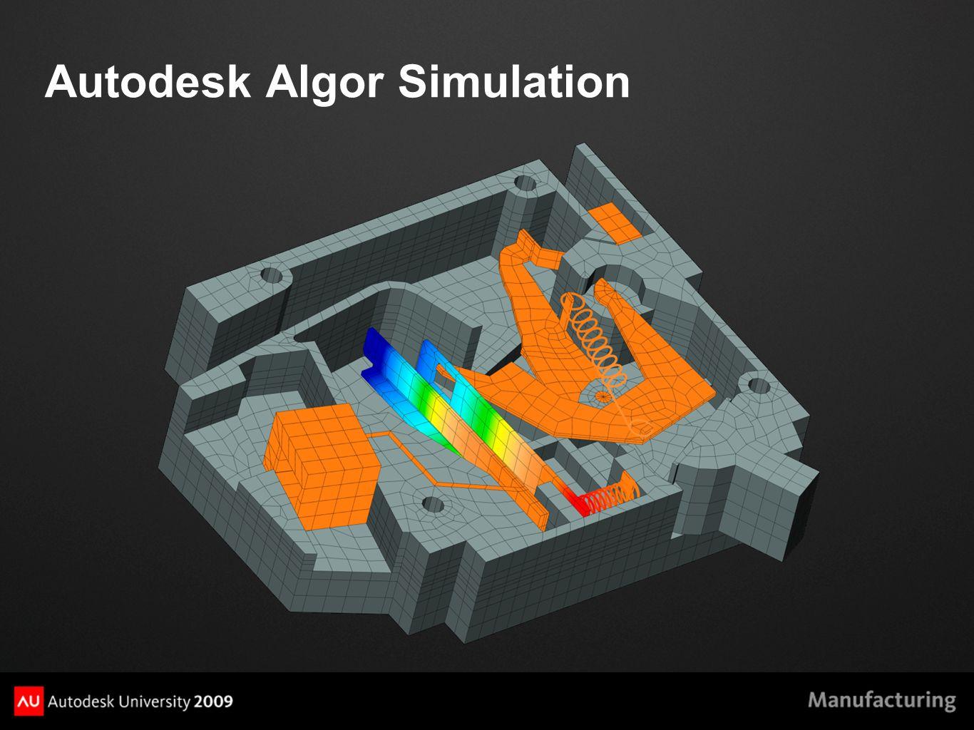 Autodesk Algor Simulation