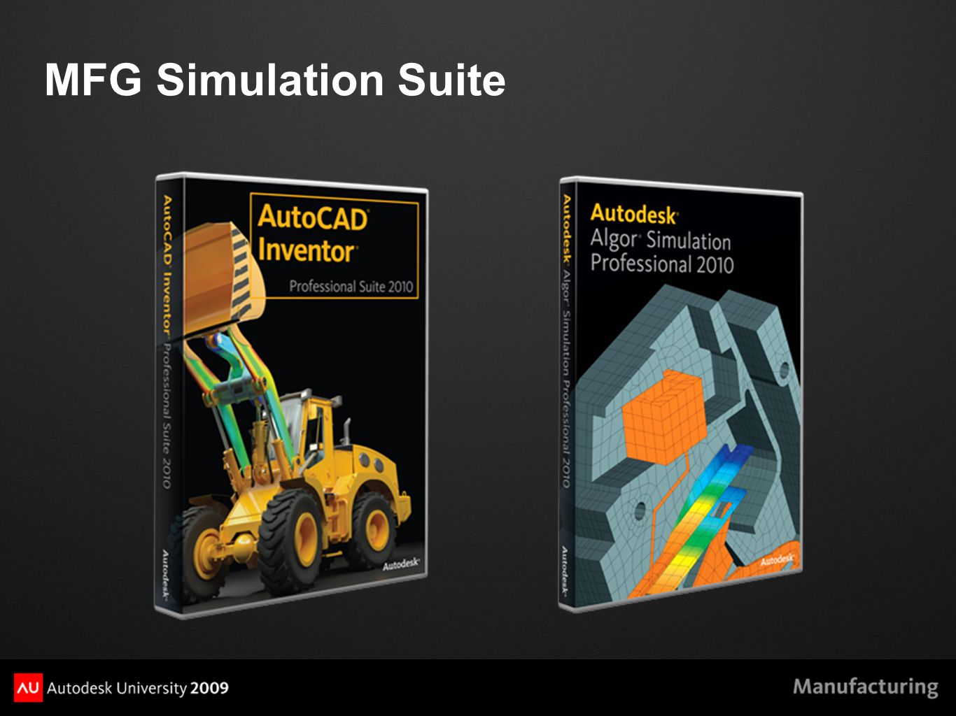 MFG Simulation Suite