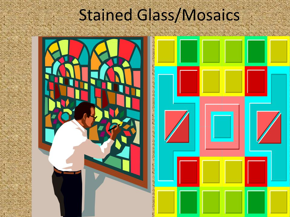 Stained Glass/Mosaics