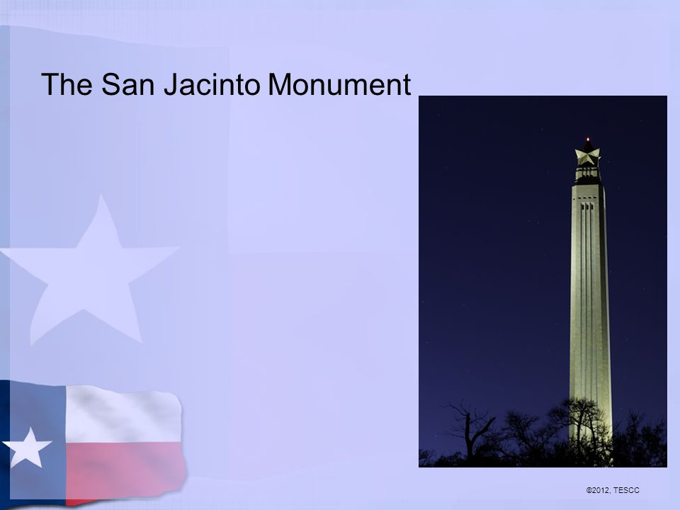 The San Jacinto Monument ©2012, TESCC