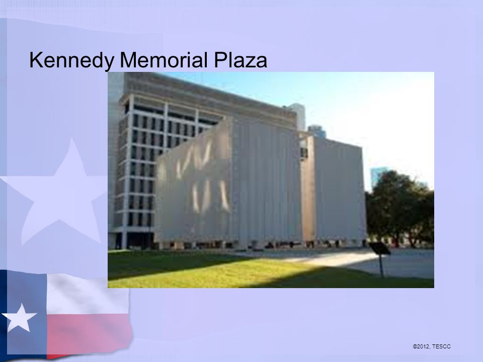 Kennedy Memorial Plaza ©2012, TESCC
