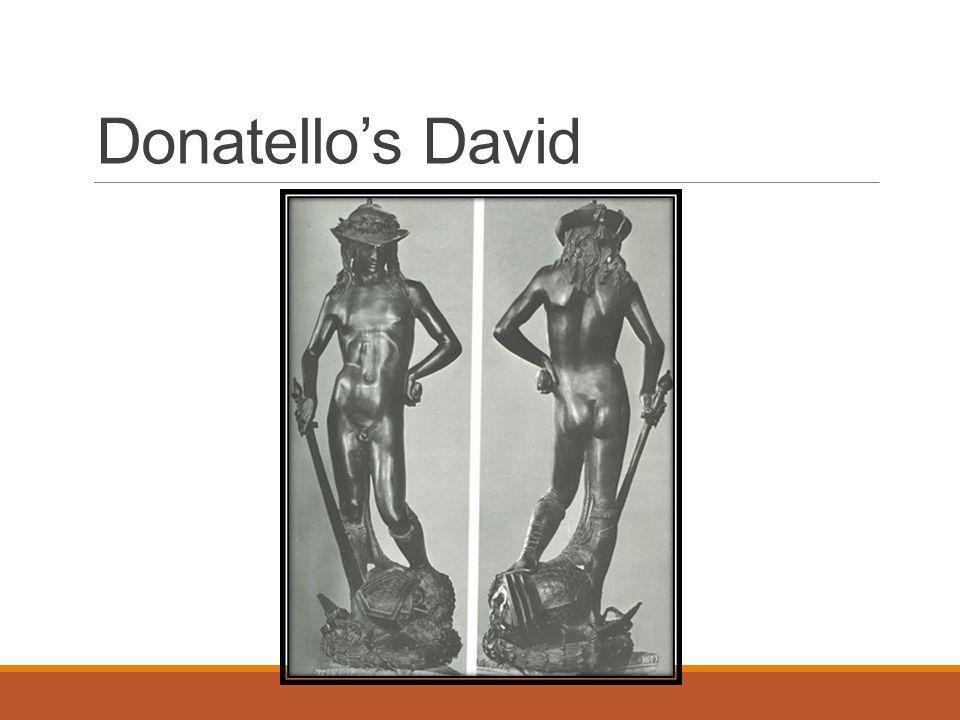 Donatello's David