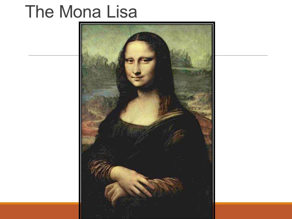 The Mona Lisa