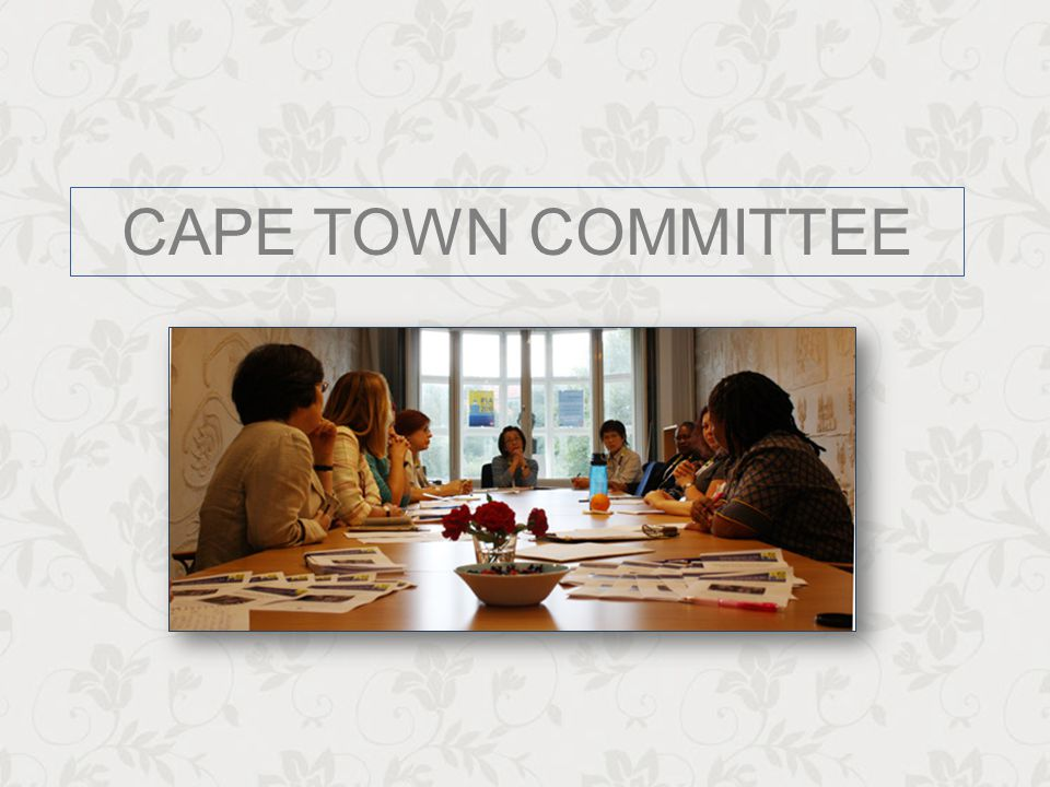 CAPE TOWN COMMITTEE