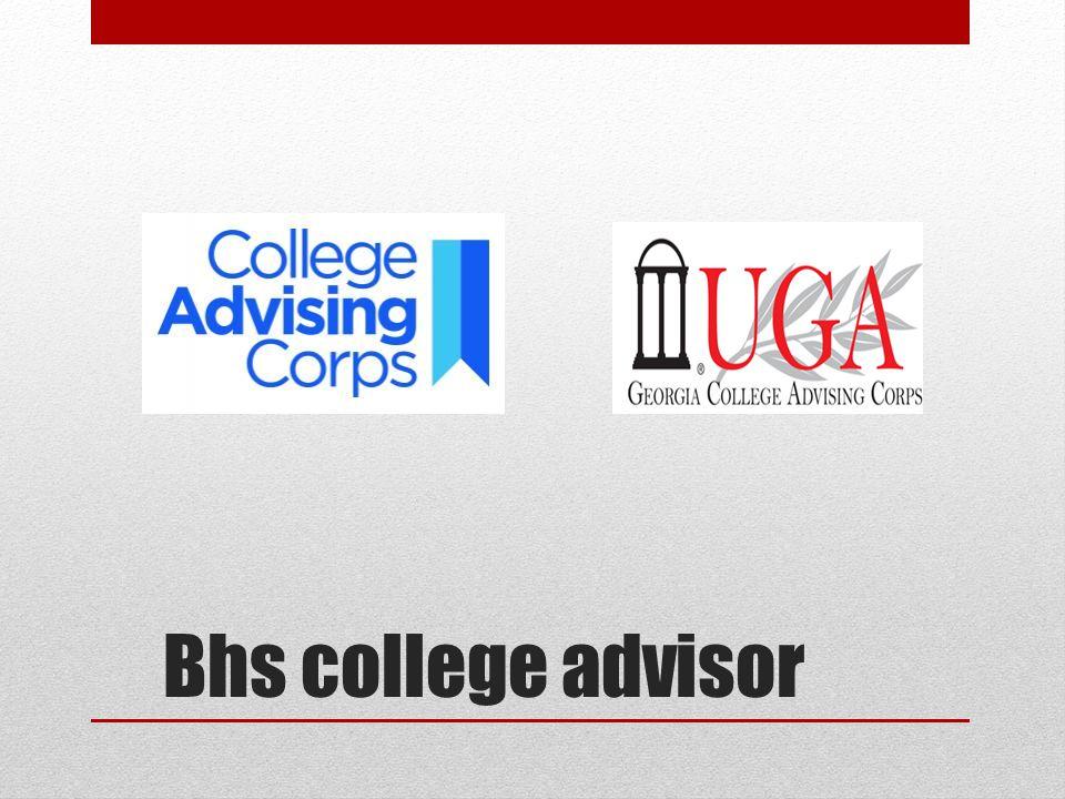 Bhs college advisor