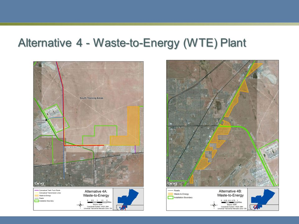 Alternative 4 - Waste-to-Energy (WTE) Plant