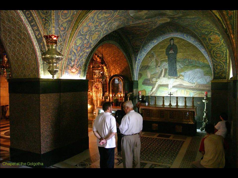 Chapel at the Golgotha