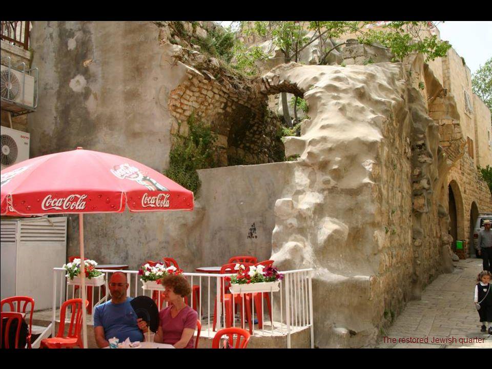 The restored Jewish quarter