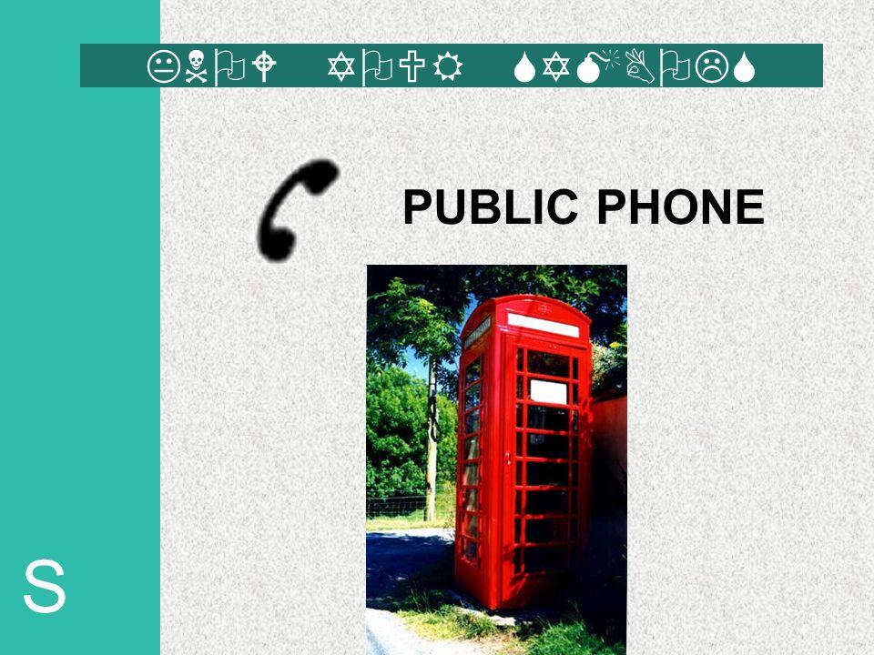 S PUBLIC PHONE