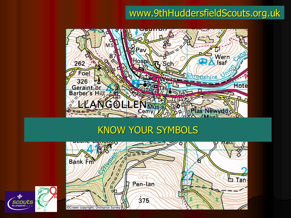 www.9thHuddersfieldScouts.org.uk KNOW YOUR SYMBOLS