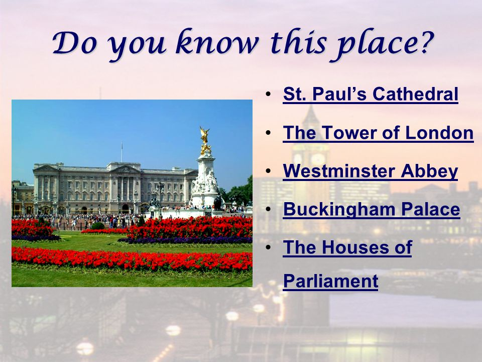 Do you know this place. St.