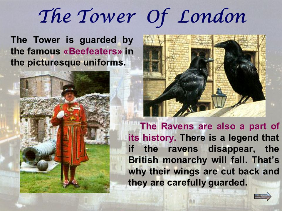 The Ravens are also a part of its history. The Ravens are also a part of its history.