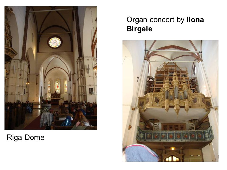 Riga Dome Organ concert by Ilona Birgele