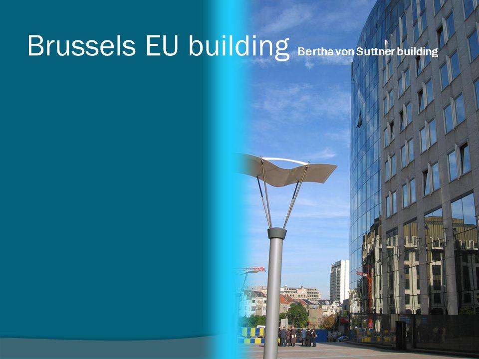 Brussels EU building Bertha von Suttner building
