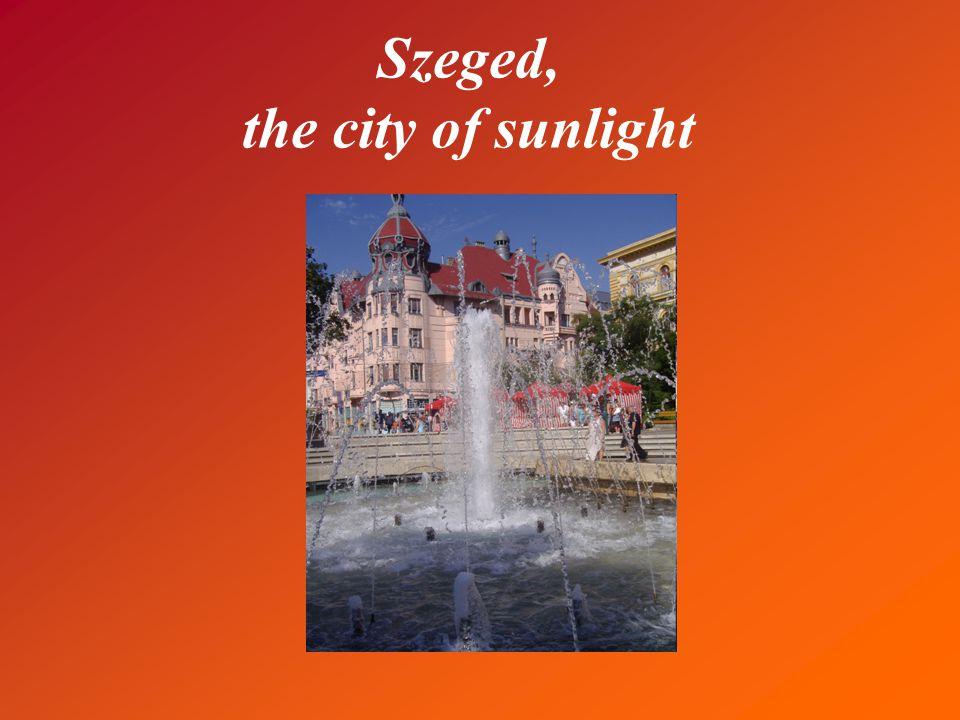 Szeged – Bird's-eye view *